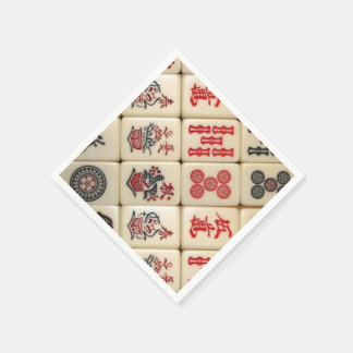 Expressão oriental guardanapo de papel