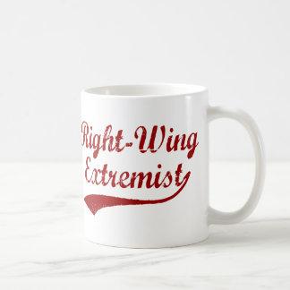 Extremista do direita caneca de café