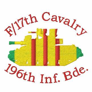 F /17th Cav. 196th Camisa bordada M551 do LIBERAL
