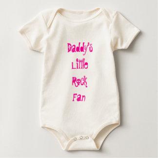 Fã de Little Rock do pai Macacãozinhos Para Bebê