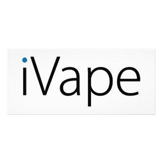 fã eletrônico do cigarro de Vaping do iVape 10.16 X 22.86cm Panfleto