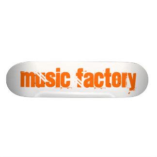 Fábrica da música shape de skate 21,6cm