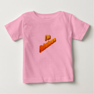 Fabuloso Camiseta Para Bebê