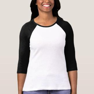 Faça a sua Própria Camisa Feminina Manga 3/4 Ragla Camisetas