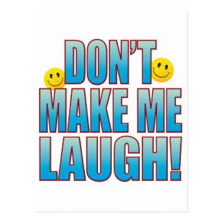 Faça a vida B do riso Cartão Postal