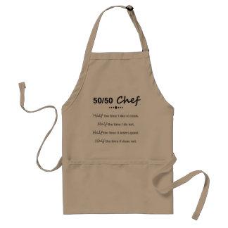 Faça alguém rir na cozinha com este avental