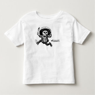 Faca de esqueleto mexicana de Posada do vintage Tshirts