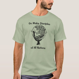 Faça discípulo camisetas
