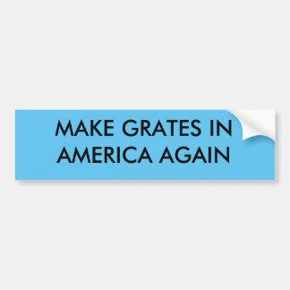 Faça grelhas em América outra vez Adesivo Para Carro