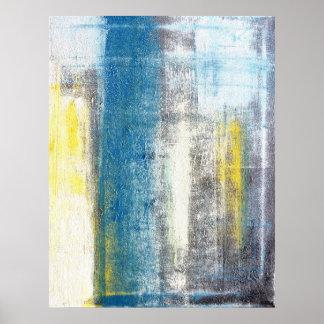 """""""Faça impressão do poster da arte abstracta de uma"""