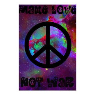Faça-me a guerra do amor não poster