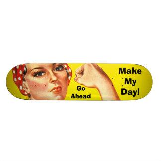 Faça meu dia! Skate