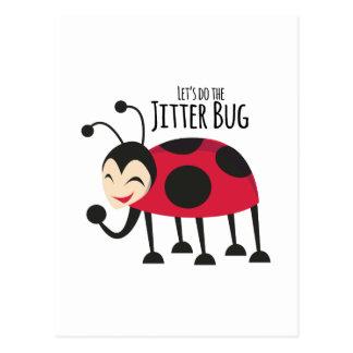 Faça o inseto do tremor cartão postal