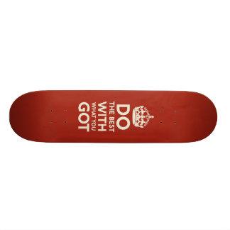 Faça o melhor skate