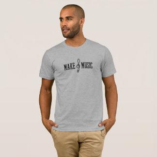 Faça o t-shirt da música