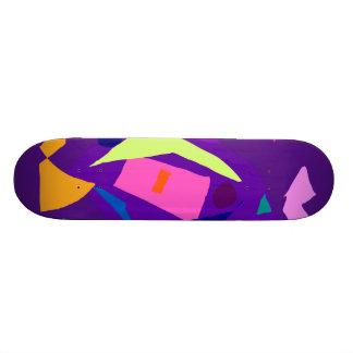 Faça seu melhor como uma luz do dia do roxo ser do skates personalizados