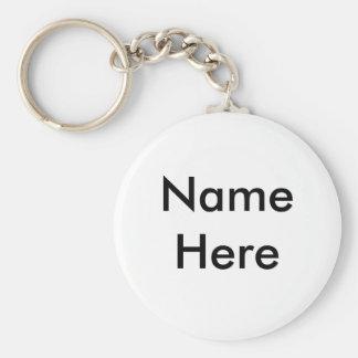Faça seu original de um chaveiro amável do nome do