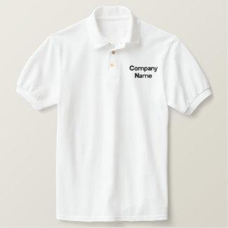 Faça seu próprio pólo bordado camiseta bordada polo