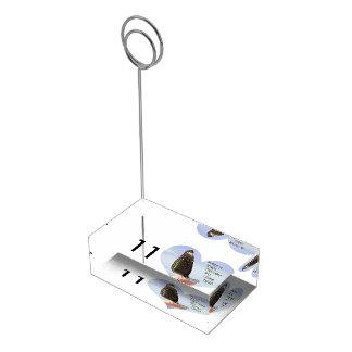 Faça sonhos de um desejo vir verdadeiro suporte para cartoes de mesas