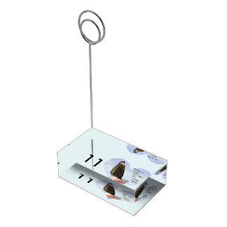Faça sonhos de um desejo vir verdadeiro suportes para cartoes de mesas