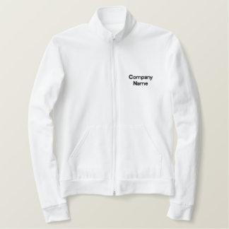Faça sua própria jaqueta bordada do nome da