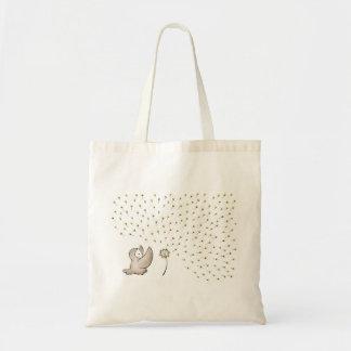 Faça um desejo bolsas de lona
