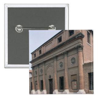 Fachada do Teatro Accademico (foto) Bóton Quadrado 5.08cm