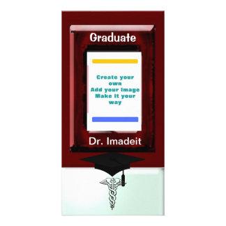 Faculdade de Medicina da graduação Cartões Com Foto Personalizados