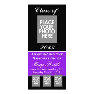 Faculdade ou segundo grau do anúncio da graduação modelo de panfleto informativo