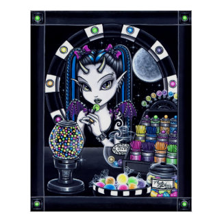 """Fada da loja de doces do """"açúcar"""" poster"""