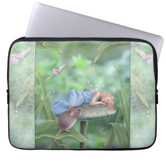 Fada de sono & rato dos sonhos doces bolsas e capas de notebook