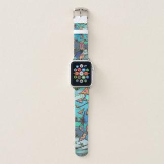 Faixa de relógio azul de Apple do design dos