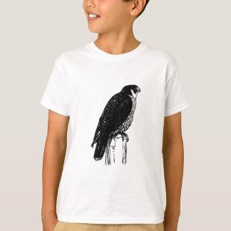 Falcão de peregrino (ilustração) camiseta