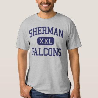 Falcons Madison médio Wisconsin de Sherman Tshirt