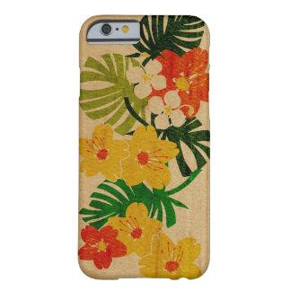 Falso havaiano do jardim de Limahuli de madeira Capa iPhone 6 Barely There