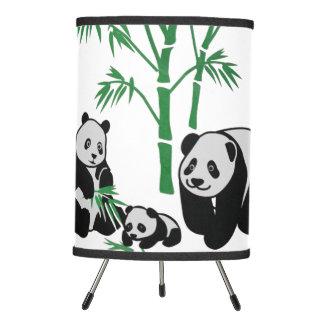 Família do urso de panda