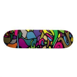"""Família estrangeira """"Juiced """" Shape De Skate 19,7cm"""