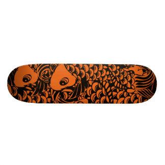 """Família estrangeira """"Koi """" Shape De Skate 21,6cm"""