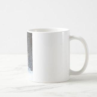 Fanfarrão alto da cremalheira caneca de café
