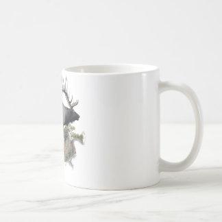 Fanfarrão do troféu do touro do monstro caneca de café