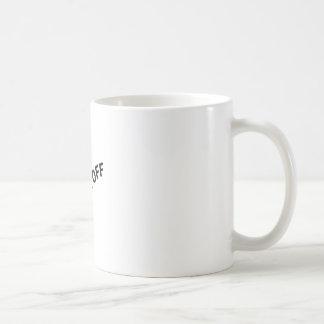 Fanfarrão fora caneca de café