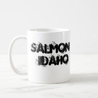 fanfarrão salmon, IDAHO SALMON Caneca De Café