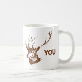 Fanfarrão você caneca de café