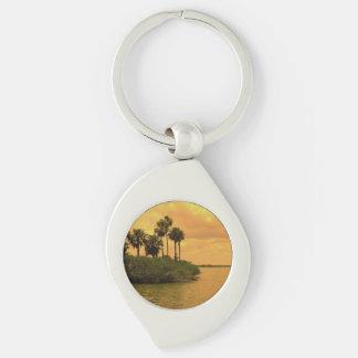 Fantasia da palmeira chaveiro