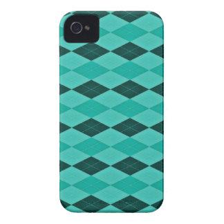 Fantasia feminino da cerceta e da turquesa capas para iPhone 4 Case-Mate