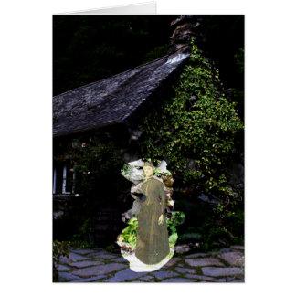 Fantasma da casa de campo cartão