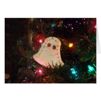 Fantasma do Natal após o cartão