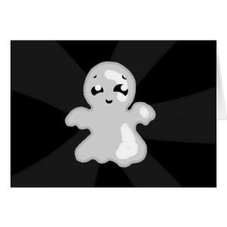 Fantasma feliz cartão