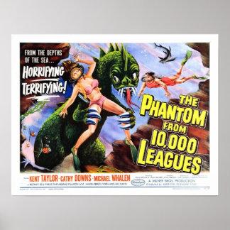 """""""Fantasma poster de 10.000 ligas"""""""