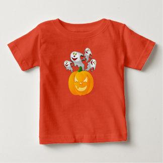 Fantasmas do T-Camisa-Dia das Bruxas do bebê Camiseta Para Bebê